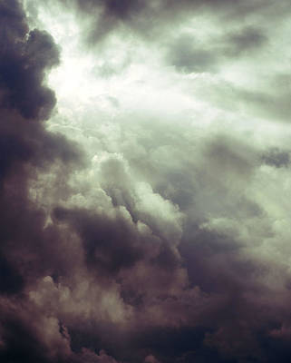 Photograph - Cloud Break II by Perry Correll