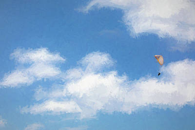 Mixed Media Royalty Free Images - Cloud Rider Royalty-Free Image by Peter Tellone