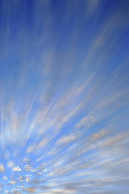Photograph - Cloud Study A4 by Jeff Brunton