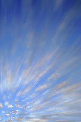 Photograph - Cloud Study A4 by Jeff Brunton