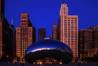 Royalty-Free and Rights-Managed Images - Cloudgate Chicago by Andrew Soundarajan