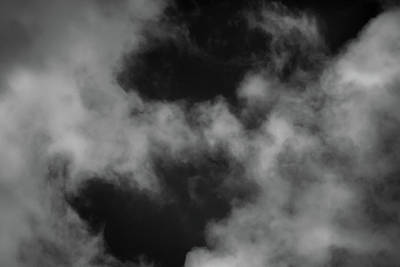 Photograph - Clouds 12 In Black And White by Greg Mimbs