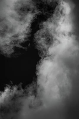 Photograph - Clouds 13 In Black And White by Greg and Chrystal Mimbs