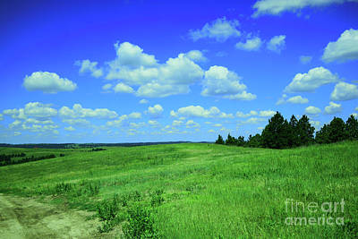 Royalty-Free and Rights-Managed Images - Clouds and landscape by Jeff Swan