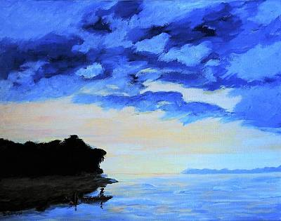 Painting - Clouds At Bay Sunrise by Deborah Smith