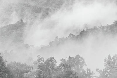 Photograph - Clouds In The Great Smoky Mountains by Susan Schmitz