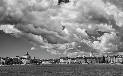 Photograph - Clouds Over Helsinki by Mick Burkey