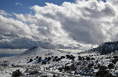 Photograph - Clouds Over I-70 Near Loma Colorado by Ray Mathis