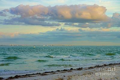 Photograph - Clouds Over Sanibel Beach by Susan Rydberg