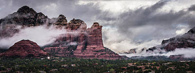 Photograph - Clouds Over Sedona by William Christiansen