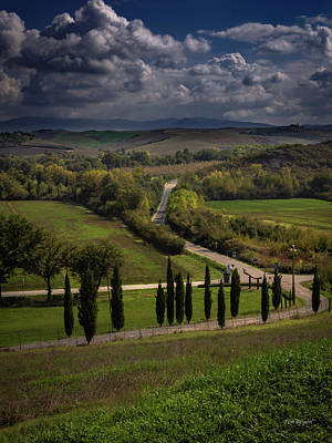 Photograph - Clouds Over Tuscany by Tim Bryan