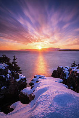 Photograph - Clouds Sublime - Vertical by Michael Blanchette