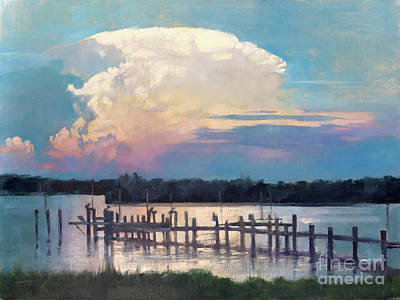 Painting - Cloudscape Over St. Michaels by Patrick Saunders