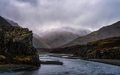 Photograph - Cloudy Canyon by Framing Places