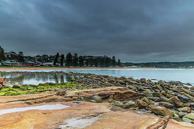Photograph - Cloudy Seascape And Shorescape by Merrillie Redden