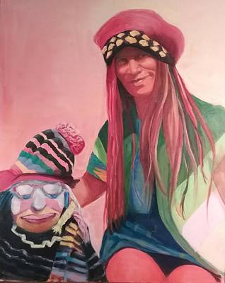 Painting - Clown by Marcia Hochstetter
