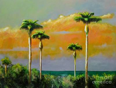 Painting - Palm Cluster by Frances Marino