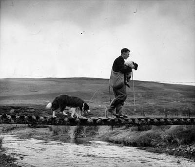 Human Interest Photograph - Clyde Rescue by Bert Hardy