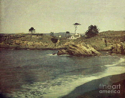 Photograph - Coal Chute Point In Whalers Cove, Point Lobos, Circa 1910 by California Views Archives Mr Pat Hathaway Archives