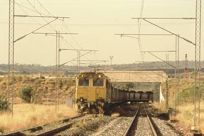 Painting - Coal Train Kinrola  C 1999 by Celestial Images