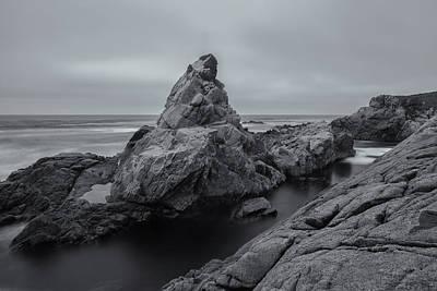 Photograph - Coast Bw 2 by Jonathan Nguyen