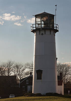 Photograph - Coast Guard Lighthouse Along The Cape by Suzanne Gaff