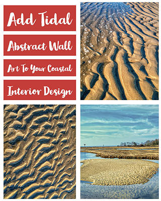 Photograph - Coastal Abtracts For Interior Decor by Gary Slawsky