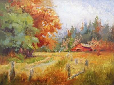 Painting - Coastal Autumn by Jeri McDonald