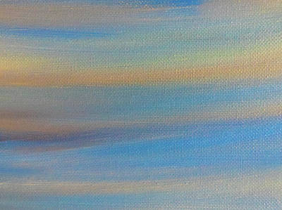 Target Threshold Watercolor - Coastal Dawn by Aaron Geraud