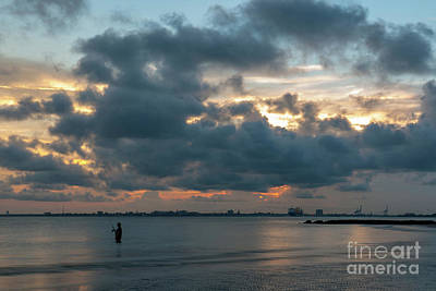 Photograph - Coastal Fishing - Charleston South Carolina by Dale Powell