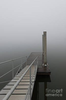 Photograph - Coastal Fog Of November by Dale Powell