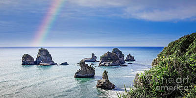 Photograph - Coastal Rainbow by Scott Kemper