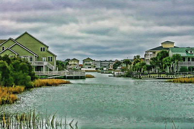 Photograph - Coastal Waterway by Cathy Harper
