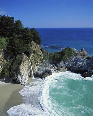 Coastline, Big Sur, California, Usa Art Print