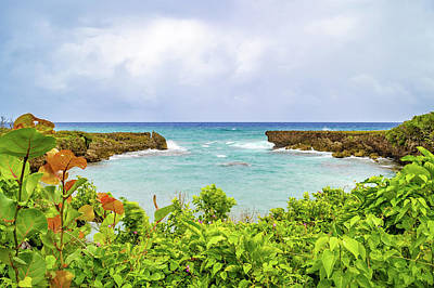 Photograph - Coastline In Saint Mary Jamaica by Debbie Ann Powell