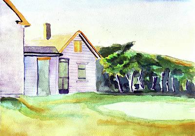 Cobb's House After Edward Hopper Original