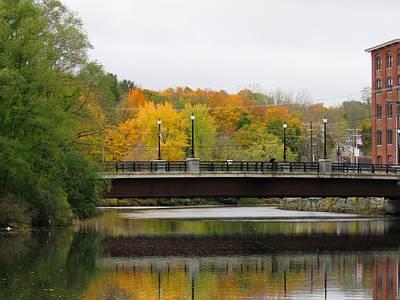 Photograph - Cocheco River Bridge by Keith Stokes