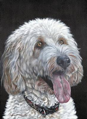 Painting - Cockapoo by John Neeve