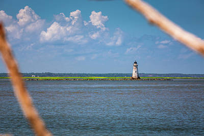 Photograph - Cockspur Island Light by ProPeak Photography