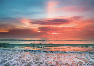 Photograph - Cocoa Beach Sunrise by Seascaping Photography