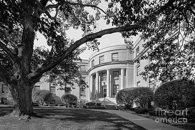 Iowa Photograph - Coe College Greene Hall by University Icons