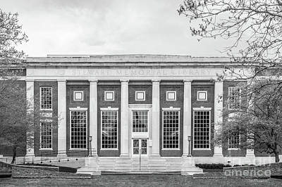 Photograph - Coe College Stewart Library by University Icons