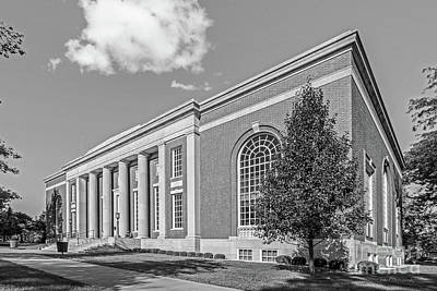 Photograph - Coe College Stewart Memorial Library by University Icons
