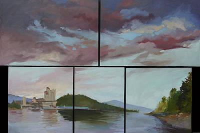 Betty Billups Wall Art - Painting - Coeur D Alene Lake    North  Idaho by Betty Jean Billups
