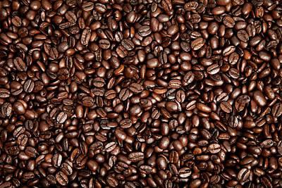 Photograph - Coffee Beans Background by Ozgurcankaya