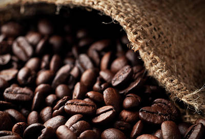 Photograph - Coffee Beans by Mphillips007
