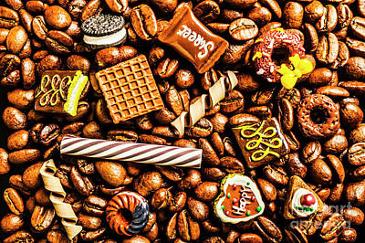 Food And Beverage Royalty-Free and Rights-Managed Images - Coffee candy by Jorgo Photography - Wall Art Gallery