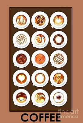 Digital Art - Coffee Fix by John Lyes