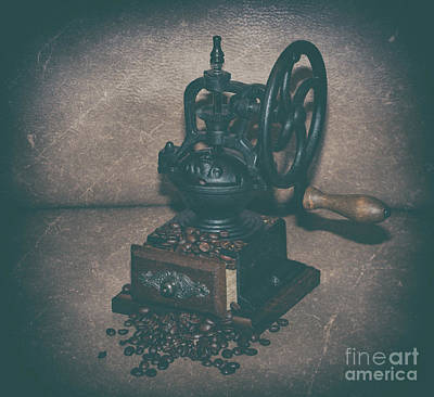 Photograph - Coffee Grinder by Dale Powell