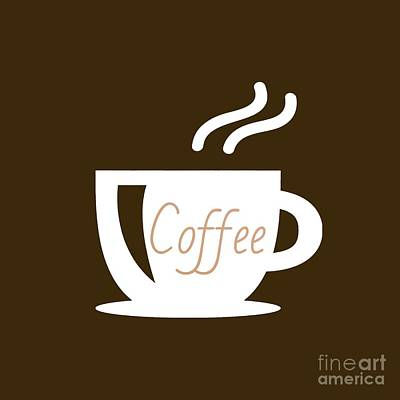 Digital Art - Coffee by Rachel Hannah